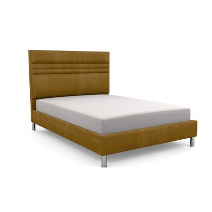 Bowgreave low foot end upholstered bed frame and headboard