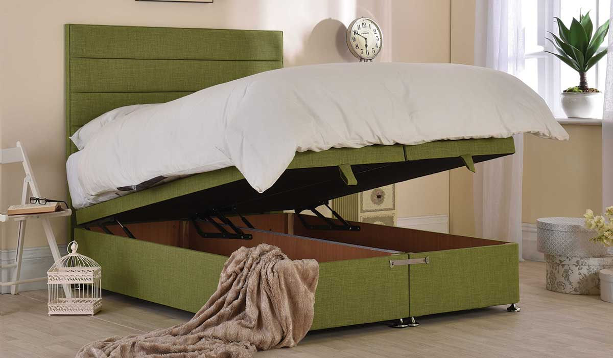 Beaumere Ottoman Storage Bed Frame | Beds | Espoke Living