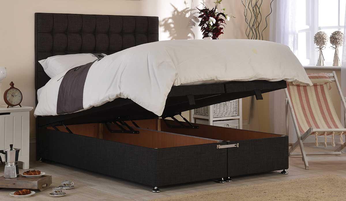 Bridgeholme Ottoman Storage Bed Frame | Beds | Espoke Living