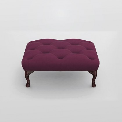 Belvedere Chesterfield Foot Stool